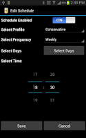 Screenshot of Battery Life Saver For Android