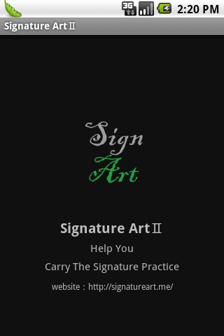 My Artistic Signature Ⅱ