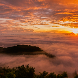 by Ronnel Masangkay - Landscapes Cloud Formations