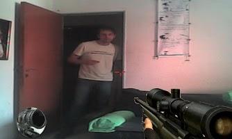 Screenshot of sniper army, friend joke