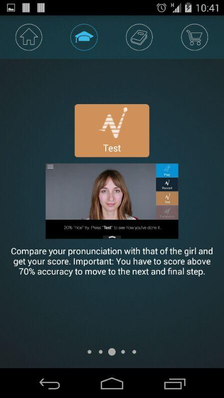 Nativox: your english tutor Screenshot