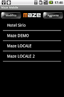 Screenshot of Maze Mobile