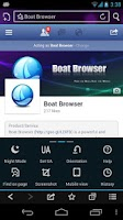 Screenshot of Boat Browser Mini