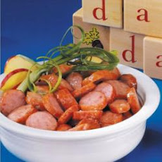 Apple Kielbasa Coins