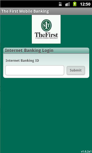 The First Mobile Banking