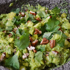 Guacamole with Apple and Mezcal