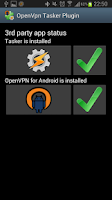 Screenshot of OpenVpn Tasker Plugin
