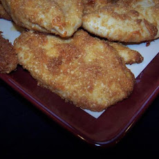 Crispy Cheddar-Parmesan Chicken Breast