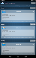 Screenshot of AppLock Cloud parental control