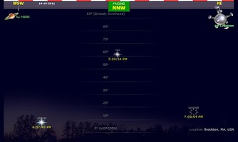 Screenshot of Space Station Finder