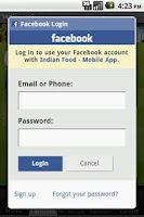 Screenshot of Indian Food - Easy Recipe