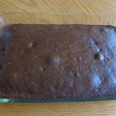 Sneaky Mommy's Chocolate Zucchini Cake