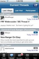 Screenshot of Ford Ranger Forum App