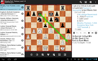 Screenshot of ChessBase Online