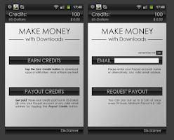 Screenshot of Make money fast:Easy Cash Bank
