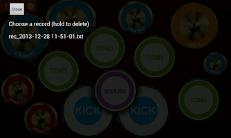 Screenshot of Real Drum Kit