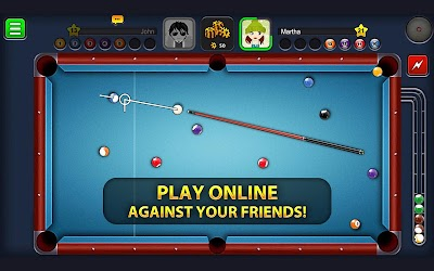8 Ball Pool Mod Unlimited Coins and Cash Apk + Extended Stick Guideline 1