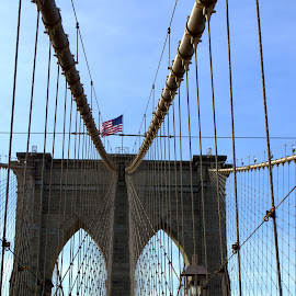 Brooklyn Bridge by Andrew Piekut - Buildings & Architecture Bridges & Suspended Structures