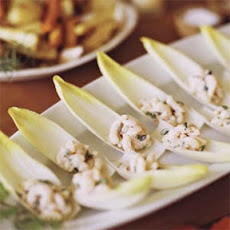 Bay Shrimp on Belgian Endive