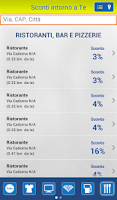 Screenshot of Sconti BancoPosta