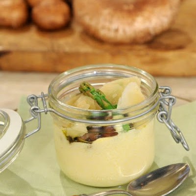 Soft Polenta in a Jar