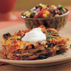 Tortilla Casserole with Swiss Chard