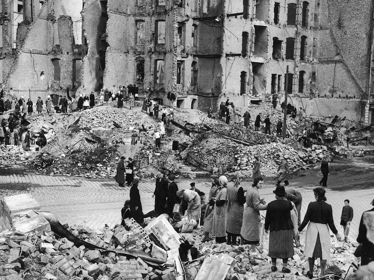 Nachkriegsdeutschland, 1945.