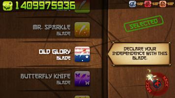 Screenshot of FruitNinja Unlimited Money