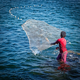 Fisherman In The Making by Nayyer Reza - Babies & Children Children Candids