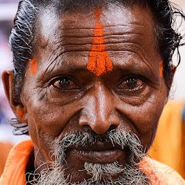 Baba Rudradev by Rakesh Syal - People Portraits of Men (  )