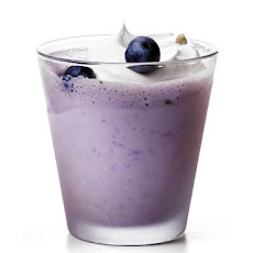 Blueberry Malt Milkshake