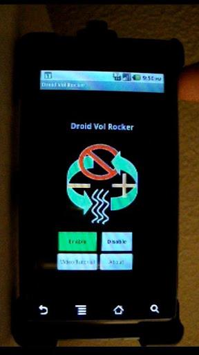 Droid Vol Rocker