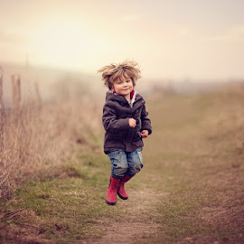 Jump by Claire Conybeare - Chinchilla Photography - Babies & Children Toddlers