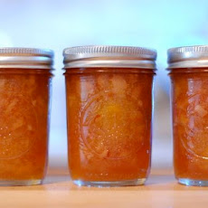 Apple Rhubarb Conserve with Almonds and Apricots