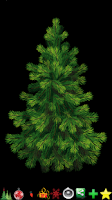 Screenshot of Christmas tree decoration