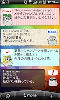 Screenshot of Pesoguin Memo Pad Penguin note