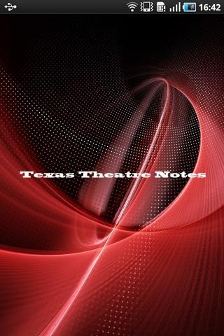 Texas Theatre Notes