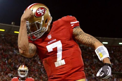 Colin Kaepernick Fan page - screenshot
