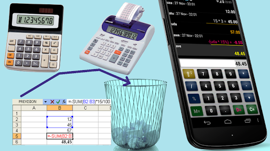 Business commercial calculator - screenshot