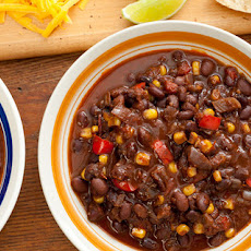 Pressure Cooker Vegan Black Bean Chili Recipe