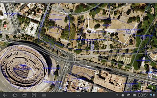 Screenshot of WikiMapia for Droid