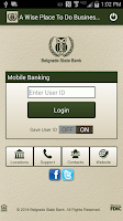 Screenshot of Belgrade State Bank Mobile