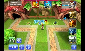 Screenshot of MonsterDefense3D