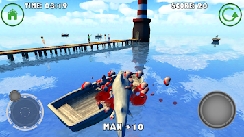 Screenshot of Shark Simulator