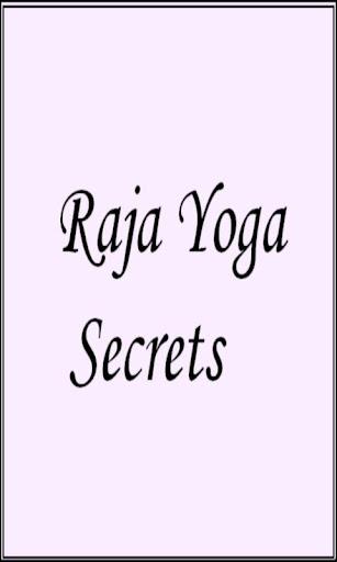 Raja Yoga Secrets