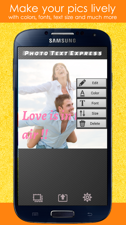 Photo Editor Text Fonts Effect Screenshot 1