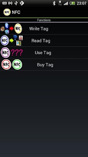 NFC Android Tag Full - screenshot