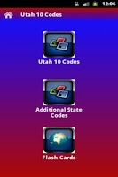 Screenshot of Utah 10-Codes
