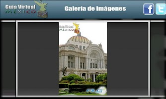 Screenshot of Guía Virtual México