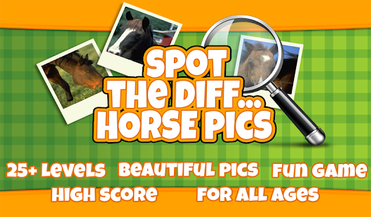 FREE Spot The Difference Horse - screenshot